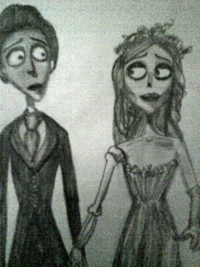 Corpse Bride by helenito